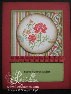 Fresh Vintage card from Lori Stamps (Stampin' Up)