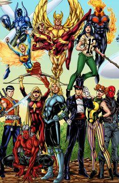 Golden Age Little Boy Blue DC Comics - Yahoo Image Search Results Arte Dc Comics, Dc Comics Superheroes, Batgirl, Nightwing, Superhero Characters, Dc Comics Characters, Teen Titans, Comic Books Art, Comic Art