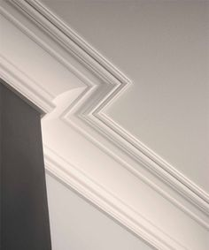 Florence Cove Molding - Crown Molding - Inviting Home Plaster Cornice, Cornice Moulding, Moldings And Trim, Ceiling Crown Molding, Cove Molding, Floor Design, Ceiling Design, Design Design, Design Ideas