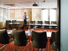 Our Victoria suite, set up in a u-shape style Manchester, Conference Room, Victoria, Shape, Table, Furniture, Home Decor, Fit, Meeting Rooms