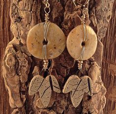 Autumn: A Light Like No Other Translucent Polymer Clay Opal Earrings by SusanDolphinDelaney