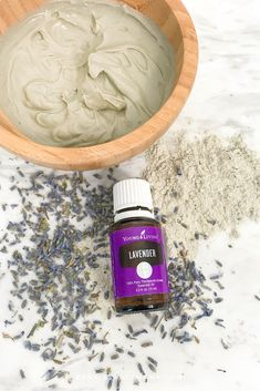 How to Have a Spa Day at Home Spa Day At Home, Home Spa, Making Essential Oils, Young Living Essential Oils, Bentonite Clay Mask, Young Living Lavender, Natural Cleanse, Oil Mix, Clay Masks