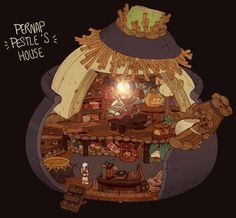 ArtStation - Pernap pestle house, Alexandre Diboine