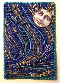 Bead Embroidery by Robin Atkins