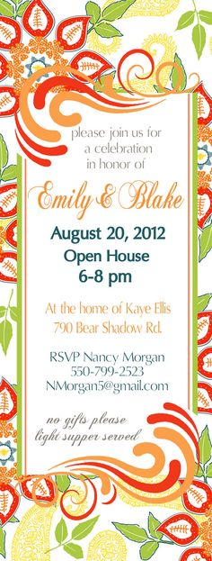 Holiday Open House Party Invitations Open house invitation - invitation letter for home party