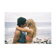 blonde, brunette, couple, cute, handsome found on Polyvore featuring couples, pictures, backgrounds, cute couples and love