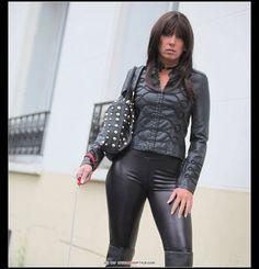 Leatherfetish, Stella Van Gent in Paris