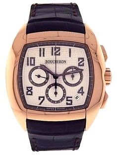 Boucheron MEC 18k Rose Gold Watch