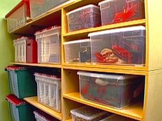 how to organize holiday decorations examinercom closet storage storage bins storage containers - Organizing Christmas Decorations