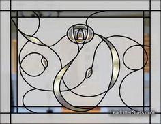 Charles Rennie Mackintosh Bevelled & Sandblasted Glass Range UK