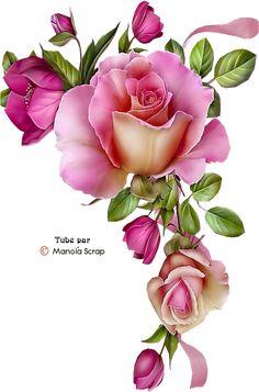 ideas for vintage flowers clipart Decoupage Vintage, Decoupage Paper, Vintage Diy, Vintage Flowers, Unique Vintage, Art Floral, Motif Floral, Flower Images, Flower Pictures