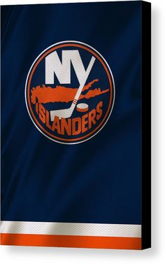 Islanders Canvas Print featuring the photograph New York Islanders by Joe Hamilton