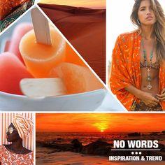 Different inspiration (orange, sunset, sand, ice) chosen from our #digitalteam