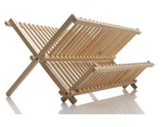Norpro Pine Wood Folding Dish Rack Measures by 15 Made of natural pine wood Portable and lightweight Large capacity hardwood construction featuring two drying levels Wipe dry to clean Outdoor Chairs, Outdoor Furniture, Outdoor Decor, Furniture Ideas, Wooden Dish Rack, Victorian Sofa, Classic Kitchen, Dish Racks, Kitchen Items