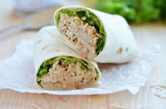 Crockpot Chicken Caesar Wraps from Life In The Lofthouse