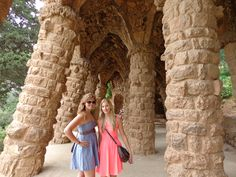 Spain, Barcelona, Parc Guell.