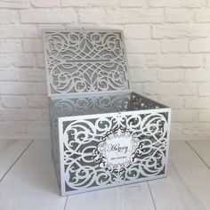Wedding Card Box With Slot Lock Wedding money box Rustic card box Lockable card box Wedding bank Wedding card box Wedding card holder