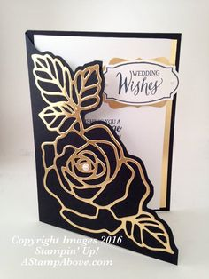 Card by Kelly Acheson (030716) [Stampin' Up! (dies) Rose Garden Thinlits; (punches) Decorative Label; (stamps) Rose Wonder]