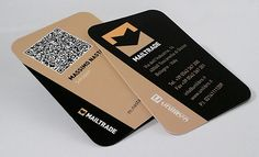 A QR Code Business Card Has Two Dimensional Bar That Can Be Scanned Using Any Modern Mobile Phone