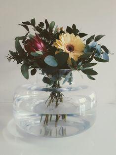 Koti, Marimekko, Glass Vase, Bouquet, Dreams, Decoration, Simple, Plants, House
