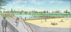 Concept of development Supraśl river banks from Wasilków to Nowodworce (Białystok – Poland) | iGreen