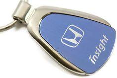 Honda Insight Key Ring Chrome Aluminum Valet Keychain