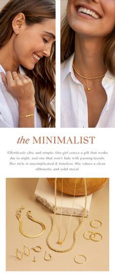Your go-to for effortlessly cool layering pieces. Inspired by the natural beauty of Southern California, our jewelry features subtle shimmer, colorful gemstones and our signature gold finish. Jewelry as unique as you ✨