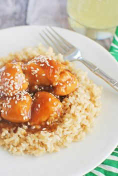 Homemade takeout! This Sesame Chicken will get rid of all your Chinese food cravings!