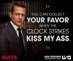 Suits l Harvey Specter Quotes Serie Suits, Suits Tv Series, Suits Tv Shows, Harvey Specter Suits, Suits Harvey, Suits Quotes Harvey, Suits Usa, Gabriel Macht, Gina Torres