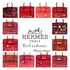 e are some standard Hermes colors and how it looks on the Birkin. I've taken these pictures from various sources and complied them for easy reference. Hermes Birkin, Birkin 25, Hermes Bags, Hermes Handbags, Hermes Scarves, Luxury Bags, Luxury Handbags, Hermes Kelly, Beautiful Handbags