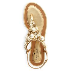 Summer 2012 Trends:  metallic & embellishments, IMANI sandal from Kate Spade.