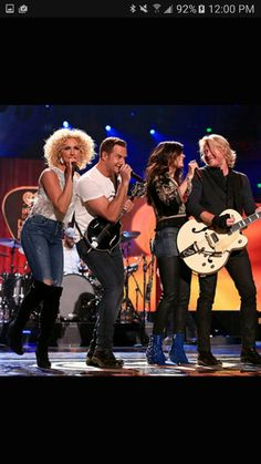 Little Big Town.  Saw them at the Grand Ol Opry in Nashville!