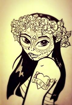 Day of the dead. Hola. By lauren jansons