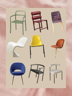 Our 48 Favorite Dining Chairs: Bet You Can't Buy Just One #SOdomino #furniture #design #chair #foldingchair