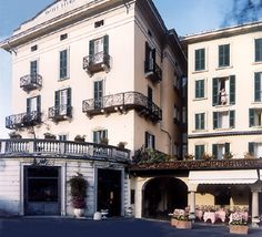 Hotel Florence in Bellagio (smack in the middle of town, lake front property, steps away from the ferry stop)
