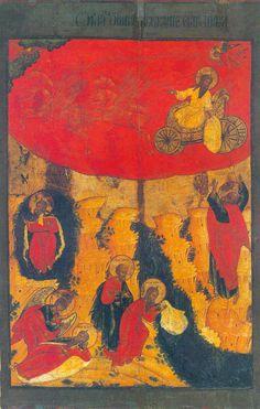 Огненное восхождение пророка Илии Начало XVIII века. Кострома. Котловка.ру