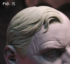 Sculpting Tutorials: Casteline Hair Sculpting Tutorial by Andy Bergholtz Sculpture Techniques, Art Techniques, Sculpting Tutorials, Art Tutorials, Anatomy Sculpture, Face Anatomy, Realistic Rose, Biscuit, Sculpture Clay