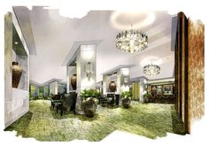 jw marriott atlanta buckhead lobby renovations rendering 2011 ~ what now, atlanta?