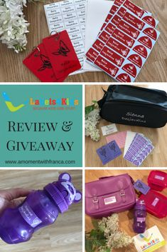 Labels4Kids Review & Giveaway • A Moment With Franca Losing Her, Giveaway, Competition, In This Moment, Life Hacks, Kids, Group, Board, Young Children