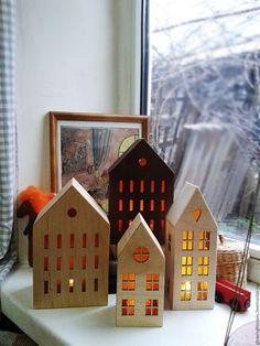 Освещение ручной работы. Палермо. Деревянный светильник-домик. Light House.. Интернет-магазин Ярмарка Мастеров. Домик, уют в доме