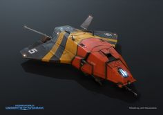 I liked a lot of things about Homeworld: Deserts Of Kharak, but the thing I liked most was just how awesome the game's unit design (and overall aesthetic) was.