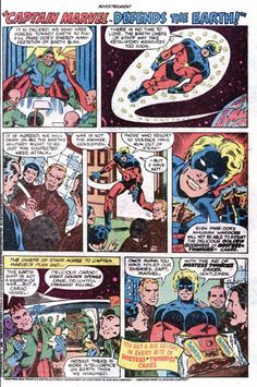 Hostess Snack Cakes Ad Captain Marvel Defends the Earth // comic book advertising.