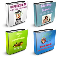 4 ebooks available!!!
