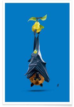 Peared (Colour) as Premium Poster by Rob Snow | Creative | JUNIQE  art | decor | wall art | inspiration | animal | home decor | ideas | gift