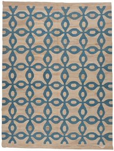 2162-DHOKU-KILIM-BLOB-331-X-250-CM. Loom Australia. I love the pattern, slightly retro but interesting at the same time.