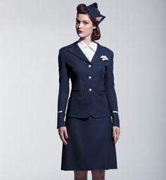 Air Canada uniform in 1941.