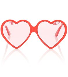 bdb756e4d1f Gucci Heart-frame sunglasses