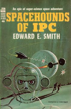 ED VALIGURSKY - art for Spacehounds of IPC by Edward E. Smith - 1966 Ace Books