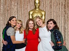 Star Tracks: Tuesday, February 3, 2015   LADIES WHO LUNCH   Call it a major gathering of girl power. Oscar nominees Marion Cotillard, Reese Witherspoon, Julianne Moore, Rosamund Pike and Felicity Jones all gather at the annual Academy Awards nominees luncheon at the Beverly Hilton Hotel on Monday.