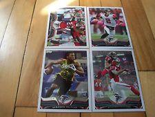 2013 Topps Atlanta Falcons (4) Card Lot MATT RYAN DESMOND TRUFANT RC NFL NFC